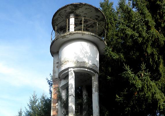 Ilyen ma az egykori határőrtorony.