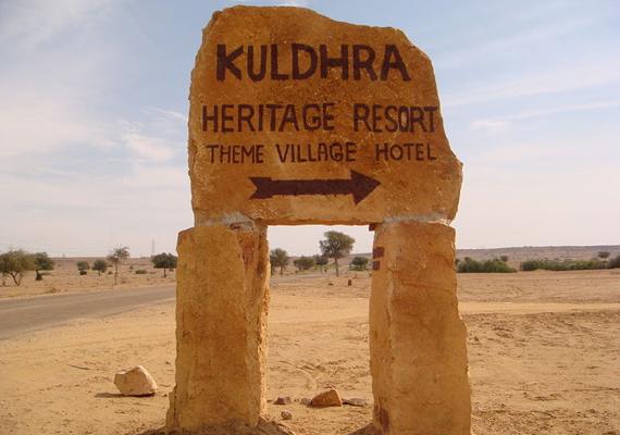 Kuldharát a 13. században, 1291-ben a Paliwal brahminok alapították. Egy legenda szerint összesen 84 falu látta kárát a helyiek feketemágia-gyakorlásának, köztük ez is.