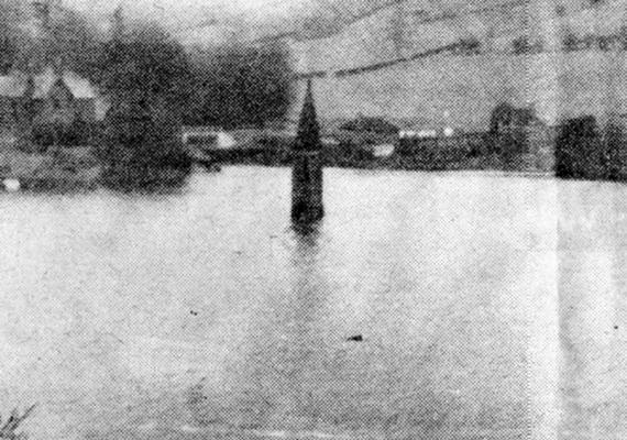 Ashopton épületeit lerombolták, mielőtt feltöltötték volna vízzel a tározót, Derwent templomtornyát azonban meghagyták, és csak 1947-ben robbantották fel, mivel veszélyessé vált jelenléte.