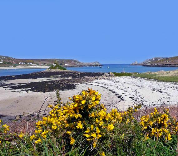 Az angliai Scilly-szigetek érintetlennek tűnő partjait a sztárok is kedvelik, Vilmos herceg és Kate is majdnem itt töltötték nászútjukat.