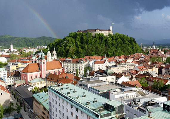 Csakúgy, mint a szlovéniai Ljubljanában.