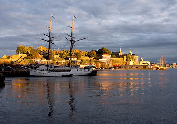A világ tizedik legbékésebb országa jelenleg Norvégia. A képen fővárosa, Oslo látható.