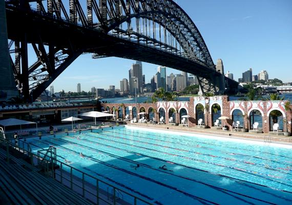 Az olvasók egyik kedvence volt az észak-sidney-i Olimpiai medence is.