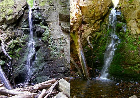 A Mátrában található Ilona-patak vizének köszönhető a Parádfürdőtől néhány kilométerre látható természeti csoda.