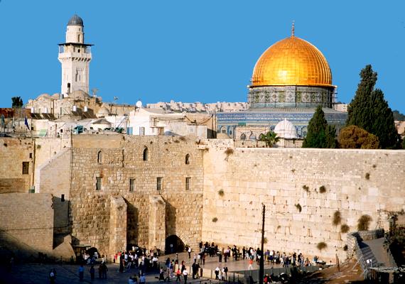 Izrael már kifejezetten azon országok közé tartozik, melyek a megkérdezettek szerint nincsenek pozitív hatással a világra. A képen Jeruzsálem látható.