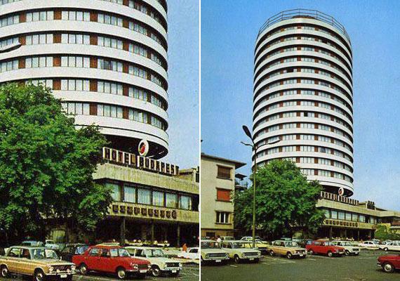 A Hotel Budapest épülete 14 szintes, hengeres toronyrésze miatt kapta a körszálló nevet. Építését 1965-ben kezdték el, és 1967-ben fejezték be.