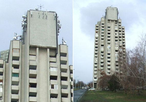 Gomba módjára terjedtek el az egységes stílusban épült lakótelepek, melyek vízellátását a tetejükön lévő tartállyal oldották meg. Az újpalotai toronyház 1975-ben épült.
