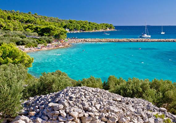Murter szigete Közép-Dalmáciában, Šibenik és Zadar között fekszik. 18,7 négyzetkilométeres területe gyönyörű partjáról, mesébe illő strandjairól híres. Az egyik legnépszerűbb ezek közül a Podvrske, de az idelátogatóknak érdemes felfedezőkörútra menniük a szigeten, hiszen számos eldugott partrészt, rejtett öblöt tartogat a környék.