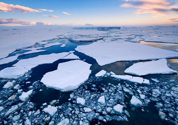 Az Antarktisz elég távol esik a civilizációtól ahhoz, hogy megőrizze tiszta levegőjét.