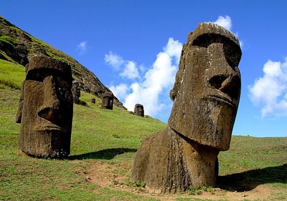 A polinéziai, misztikus Húsvét-szigetek egykori lakói épp olyan tiszta levegőt szívhattak tüdejükbe, mint azok, akik napjainkban utaznak oda.