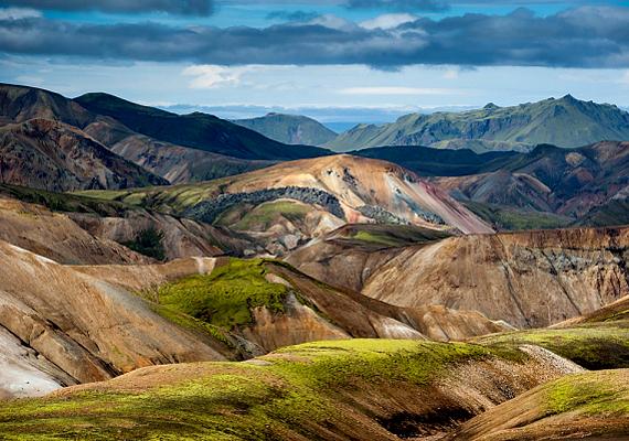 A gyönyörű és vadregényes Izland levegője, ha épp nincs vulkánkitörés, kiemelkedő tisztaságú.