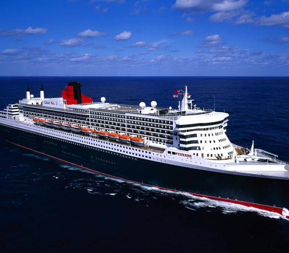 A Queen Mary 2 minden idők egyik legmonumentálisabb óceánjárója, mely a hajózás klasszikus korát idézi.