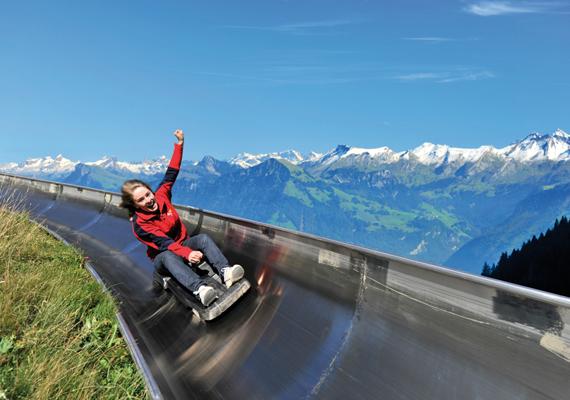 A Pilatuson található Svájc leghosszabb nyári szánkópályája is, amely májustól októberig működik.