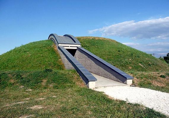 A Százhalombattai Régészeti Parkba október 31-ig lehet látogatást tenni.