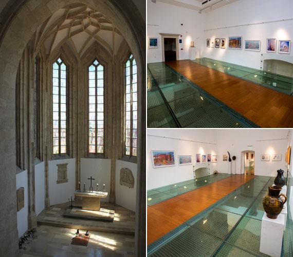 A rekonstrukciónak köszönhetően régi fényében pompázik a kápolna, a keleti szárnyban pedig az üvegpadló alatt láthatóvá vált a Garák-korabeli járószint: a műemlék ezen gótikus részét korábban elzárták a látogatók elől.