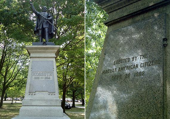 A kivándorló magyarok közül egykor nagyon sokan Clevelandben és környékén telepedtek le, ahol saját városrészük is volt. Cleveland máig számos magyar vonatkozású helyet és látnivalót tudhat a magáénak, ezek közé tartozik a University Circle-ön felállított Kossuth-szobor is.