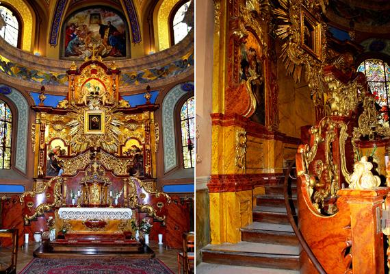 A templomot nemrégiben újították fel, de természetesen az ominózus képet továbbra is nagy becsben őrzik.