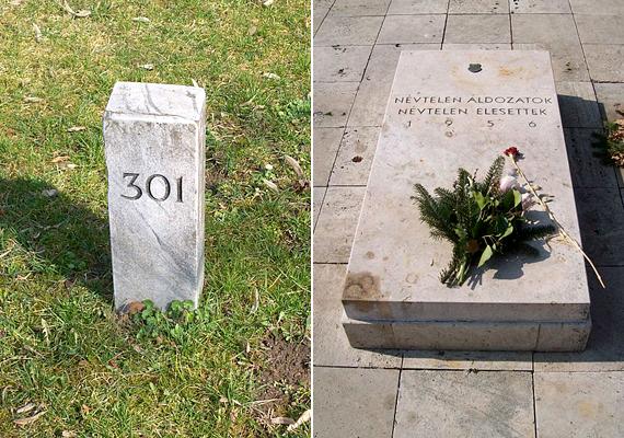 A rákoskeresztúri Új Köztemetőben található 301-es parcella azoknak állít emléket, akik az 1956-os forradalmat követő megtorlás áldozataivá váltak, itt temették ugyanis el őket titokban, kegyeletsértő módon. A parcella ma fontos emlékhely.