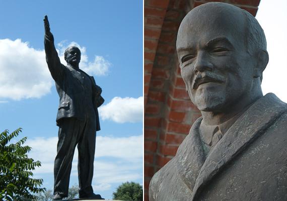 Lenin alakja több helyen is felbukkan a szabadtéri múzeumban, de Sztálin-szobrot nem lehet itt látni, ugyanis az egyetlen róla készült alkotást 1956-ban rombolták le a forradalmárok.