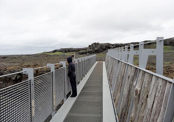 A híd Szerencsés Leif Ericson korai felfedező után kapta a nevét, akit az első olyan izlandinak tartanak, aki egykor, mintegy ezer éve Észak-Amerika földjére lépett - korábban, mint maga Kolumbusz.