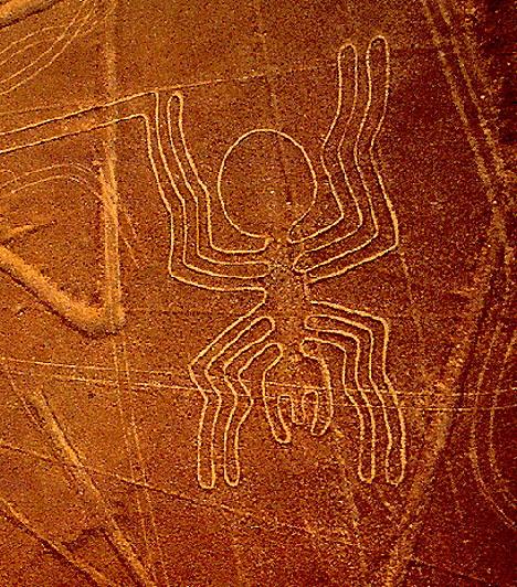 A Nazca-vonalak, PeruPeruban helyezkednek el földünk legnagyobb kiterjedésű grafikai alkotásai, a híres Nazca-vonalak. Számos elmélet próbálja megmagyarázni, kik és miért is készítették a körülbelül kétezer éves, 520 négyzetkilométernyi területet érintő ábrákat: van, aki ősi útvonalnak, netán öntözőrendszernek tartja őket, más vélekedések szerint azonban nem emberi alkotások.