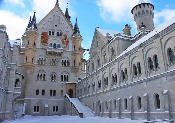 Néhány nappal a kihallgatások után von Gudden és a müncheni elmegyógyintézet emberei a palota lépcsőjén lefogták, majd elszállították a királyt a közeli Berg-kastélyba.