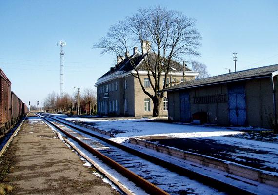 A Skrunda-1 Lettország szellemvárosa, melynek épületmaradványait 2010-ben árverezték el.