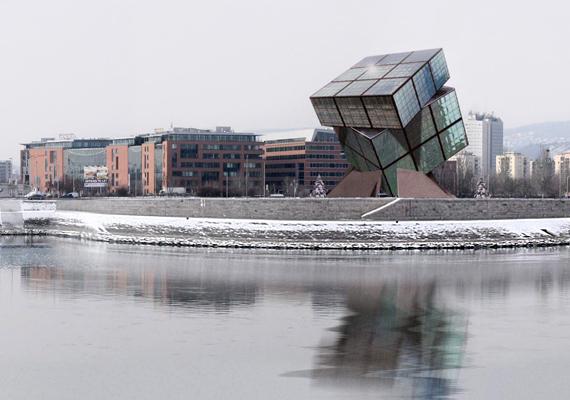 2011 végén született meg a kormányzati szándék, hogy létrejöjjön egy nagy múzeum, mely a kocka történetét mutatja be. A képen az MTI elképzelése látható.