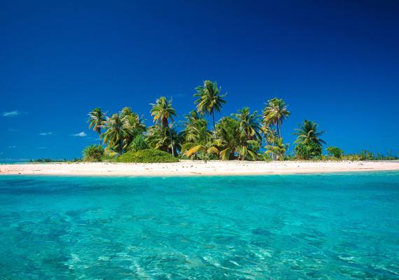A szintén Francia Polinéziában található Bora Borát lagúnája és korallszigetei teszik még szebbé. Kattints ide a háttérképért!