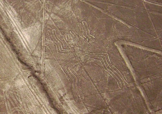 Máig nem bizonyított, mi volt a célja az egykori, azonos nevű indiánoknak a rejtélyes Nazca-vonalakkal.
