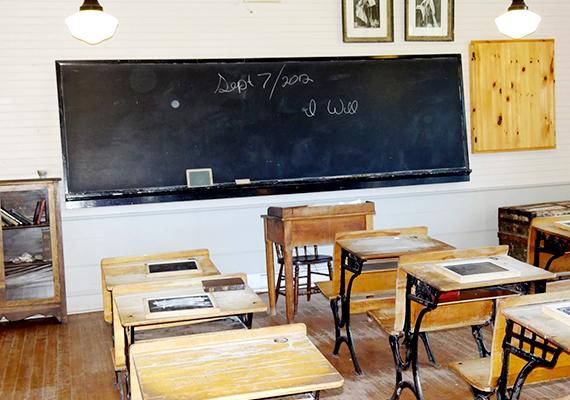 Iskola a cavendishi Avonlea-ban.