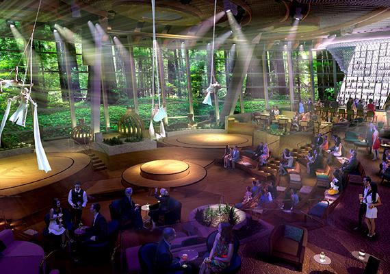 A hajózási társaság a színpadi show-műsorok tekintetében is úttörő produkciókat ígér.