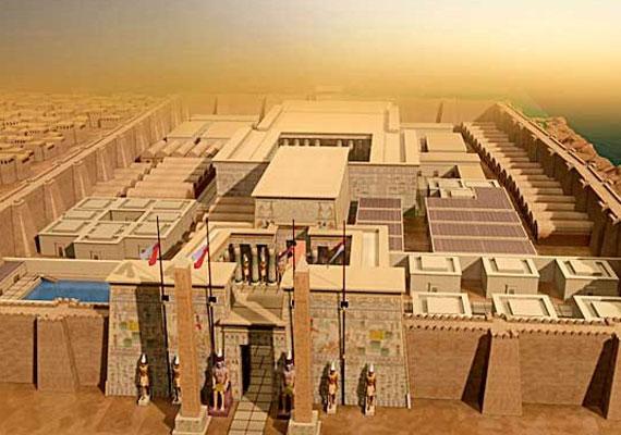 Napjainkban már nem okoz különösebb gondot egy-egy építmény rekonstrukciós képeinek elkészítése, ahogyan ez a luxori templom esetében is történt. Bár az épületek formája miatt viszonylag egyszerű az elképzelés, kihívást csupán a dekorációk jelentenek.
