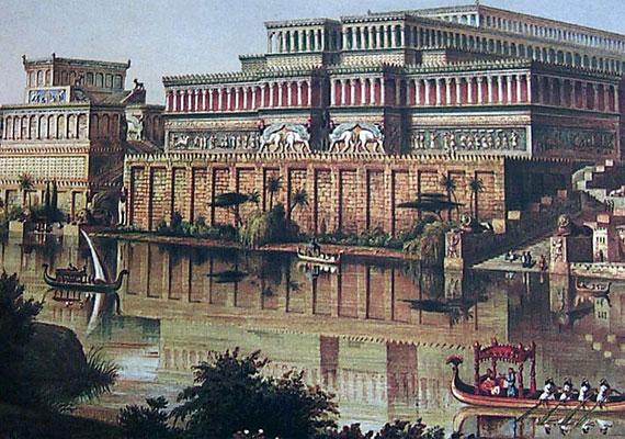 Bár II. Ramszesz palotájának csupán a romjai maradtak fenn, egy későbbi fáraónak, III. Ramszesznek (i. e. 1221-i. e. 1156. április 7.) köszönhetően mégis tudni lehet, hogy nézett ki. Mivel uralkodói példaképének tartotta, számos tekintetben megpróbálta utánozni: nemcsak a nevét, hanem építményeit is.