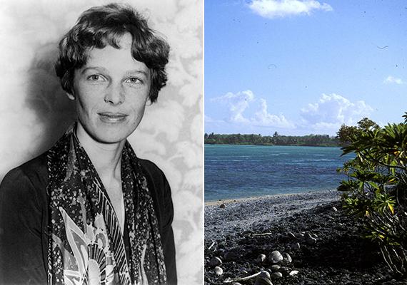 Amelia Earhart maradványai                         Josh Fidzsire is elutazik, hogy nyomára akadjon azoknak a csontmaradványoknak - Amelia Earhart maradványaiként váltak ismertté -, melyeket a közeli Nikumaroro-szigeten találtak ötven éve, de Fidzsire szállításuk közben egyszerűen eltűntek. Találkozik egy helyi lakossal is, aki egy koponyát talált a háza alatt, de, amikor a hatóságoknak átadta, annak is nyoma veszett. Utána senki nem kutatott tovább a területen. Gates beszerzi a megfelelő engedélyeket, maga kutat tovább a környéken, és további csontokat talál. Ezeket jelenleg is tudósok vizsgálják. A képeken a pilótanő, illetve a Nikumaroro-sziget részlete látható.