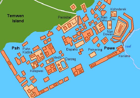 Nan Madolt, mely a mikronéziai Pohnpei szigetének keleti partjainál fekszik, a kutatók szerint a 8-9. században kezdték el építeni.
