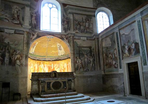 Itt nyugszik az ír király, Donough O'Brien, és itt őrzik I. Gergely pápa székét is, mindezeken, valamint építészeti, vallási és kulturális jelentőségén túl azonban sokan egészen más miatt jegyezték meg a templom nevét.