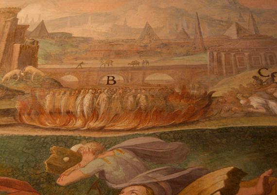 A 16. században XIII. Gergely pápa megrendelésére készült 34 freskó ugyanis olyan naturálisan ábrázolja a keresztény vértanúk kínzását és halálát, mint kevés képzőművészeti alkotás a világon.