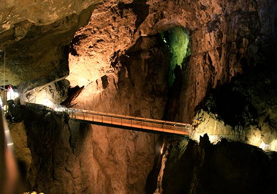 A Škocjan-barlangrendszer föld alatti kamrái a legnagyobbak közül valók a világon, a 308 méter hosszú, illetve legnagyobb szintkülönbségét tekintve 146 méter mély Martel-kamra például a legnagyobb egész Európában.