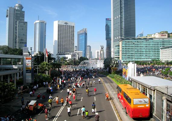 Indonézia fővárosát, Jakartát szintén fenyegetik az árvizek, a szárazföld süllyedése, valamint az emelkedő tengerszint.