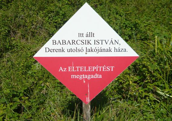 Volt, aki ellenállt, ennek állít emléket ez a tábla is. Kattints ide, ha szeretnéd jobban megismerni a falu történetét!