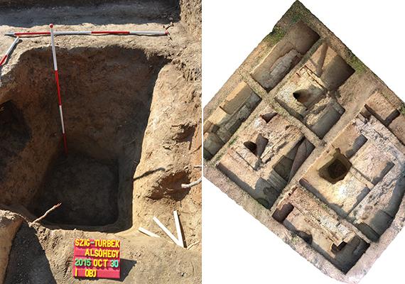 A képeken a feltételezett türbe feltárási helyszíne látható. I. Szulejmán utolsó nagy vállalkozása Magyarország ellen irányult: 1566. szeptember 6-án Szigetvár elhúzódó ostroma közben hunyt el. Halálát a sereg elől eltitkolták, a vár bevétele után belső szerveit Szigetvár mellett temették el, föléjük pedig szentélyt emeltek. A 2016-os év I. Szulejmán és Zrínyi Miklós halálának is 450. évfordulóját jelenti, mely alkalomból számos megemlékezést terveznek.