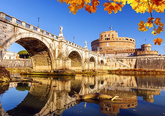 Rómába is érdemes elutazni ősszel, de nemcsak a meseszép környezet miatt. Ilyenkor az időjárás is kellemesebb, és a turista is kevesebb.