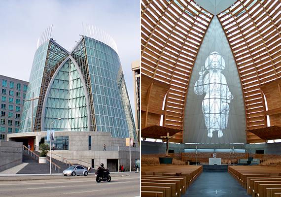 Csakúgy, mint a kaliforniai Oaklandben a Krisztusi fény katedrálisa, mely sajátos fény- és térélménnyel kápráztatja el azokat is, akik csupán távoli látogatóként keresik fel.