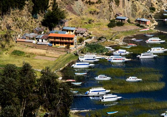 A tavon számtalan sziget található - az őslakosok közül sokan élnek a vízen -, körülötte pedig olyan jelentőssé vált a népességnövekedés, hogy a Titicacát veszélyeztetetté nyilvánították.
