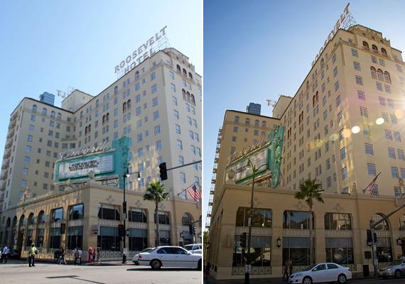A hollywoodi Roosevelt Hotel olyan hírességek kedvelt szállása volt, mint Marilyn Monroe. Szemtanúk szerint a színésznő holtában is gyakran ellátogat ide.