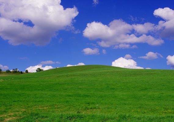 A sikondafürdői lanka és az ég színe együtt festményre illő. A nagy felbontású képért kattints ide!