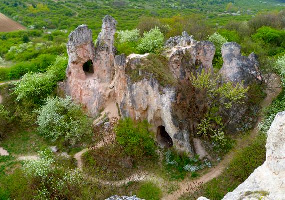A Teve-szikla látványa igazi különlegesség. A nagy felbontású képért kattints ide!