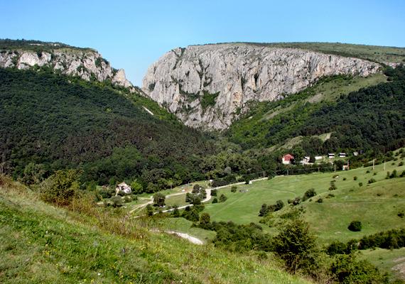 Csodás látvány: a Torda városától nem messze található Tordai-hasadék.