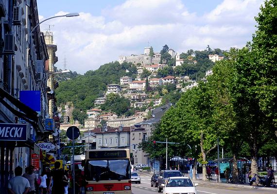 Trsat hegyi vára Rijekában, vagyis Fiumében található. II. András király adományozta egykor a Horvátországban hatalmas birtokokkal rendelkező Frangepán grófoknak.